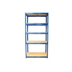 5 Tier Twin Slot Shelving Kit