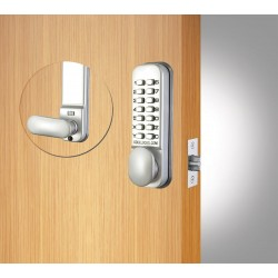 Codelock CL055 SG Digital Door Lock - Silver