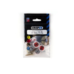 GripIt 182-254 18mm Red Plasterboard Fixings - Pack of 4