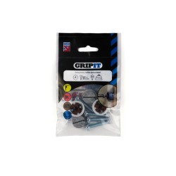 GripIt 202-304 20mm Brown Plasterboard Fixings - Pack of 4