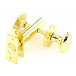 B1067 60mm Brass Thumbturn, Sec Bolt & Release