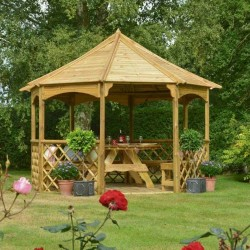 Buckingham 8 Sided Gazebo