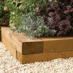 0.9m Timber Blocks (Pack of 2)