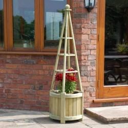 Marberry Obelisk Planter
