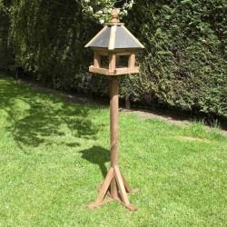 Laverton Bird Table - Natural Timber - 1720 x 360 x 360mm