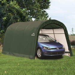10 x 20 ft Round Top Auto Shelter