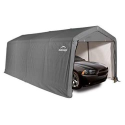 10 x 20 ft Peak Style Auto Shelter
