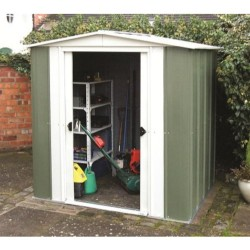 Greenvale Metal Pent Shed - 6 x 4 ft