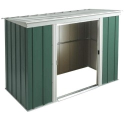 Greenvale Metal Pent Shed - 8 x 4 ft