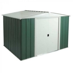 Greenvale Metal Apex Shed - 10 x 8 ft