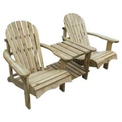 Softwood Adirondack Companion Seat