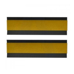 100mm x 29mm x 2mm Intumescent Square Hinge Pad
