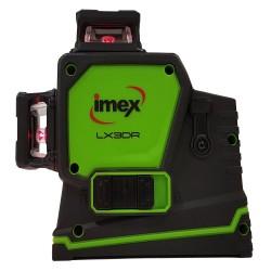 Imex 3D Multi-Line Laser 3 x 360° Lines Red Beam