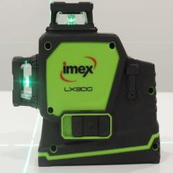 Imex 3 Multi-Line Laser 3 x 360° Green Beam