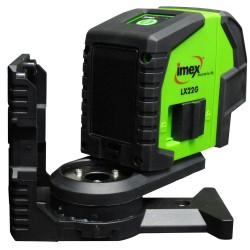 Imex Crossline Laser / Plumb With Tripod Green Beam