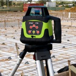 Imex 77R Rotating Laser - Horizontal With Tripod & 5m Staff