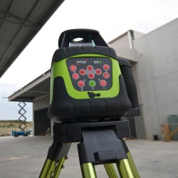 Imex 88G H/V Green Beam Rotating Laser With Tripod & Staff