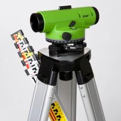 Imex LAR 28x Magnification Auto Level With Tripod & 5m Staff