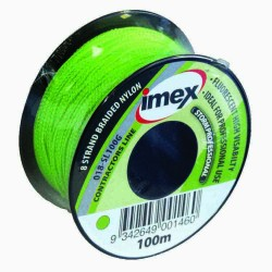Imex 100m 8 Braid Green Stringline
