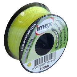 Imex 100m 8 Braid Lime Stringline