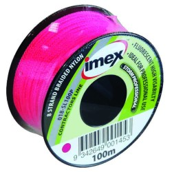 Imex 100m 8 Braid Pink Stringline