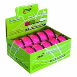 Imex 100m 8 Braid Pink Stringline