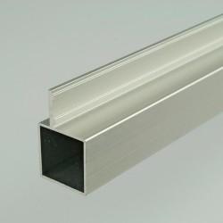 ProFrame 2m Self Colour Aluminium Single Fin Square Tube