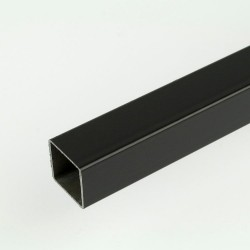 ProFrame 3m Black Aluminium Square Tube