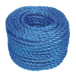 8mm x 30m Blue Polypropylene Rope
