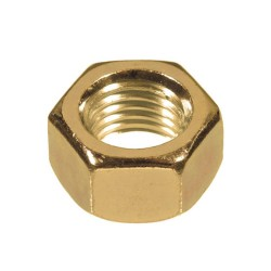 2BA Brass Hex Full Nuts (Pack of 100)