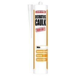Evo-Stik 310ml Decorators Flexible Filler White Acrylic Caulk