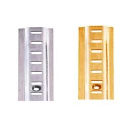 Electro-Brass Raised Bookcase Strip