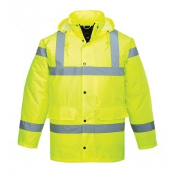 Hi-Viz Traffic Jacket (L)