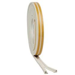 5m White 'P' Intumescent Strip