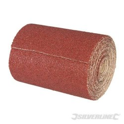 50m x 115mm P60 Grit Aluminium Oxide Sanding Roll