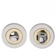 Polished/Stain Chrome Plated Dual Finish Indicator & Turn Bolt