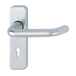 Hoppe 19mm SAA Euro Lock Handle (Pair)