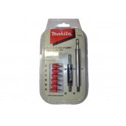 Makita Clear & Stubby Screw Guide Set (10 Piece)