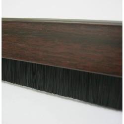 914mm Brown Brush Threshold