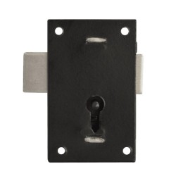 AS6552 67mm Black Japan Keyed Alike Cupboard Lock