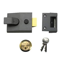 Yale 89 PB Security Night Latch DMG