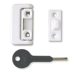 8K109/M White Window Locks (Pack of 4)