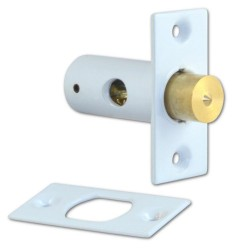 837-12 White Window Security Bolt