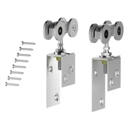 Coburn '4 Wheel' Timber Door Hangers (Pair)