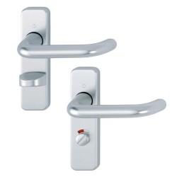 Hoppe 19mm SAA Bathroom Lock Handle (Pair)