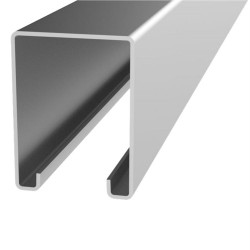 1.8m Galv Steel Top Track