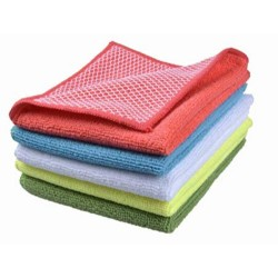 Poly Bag Cleaning Rags