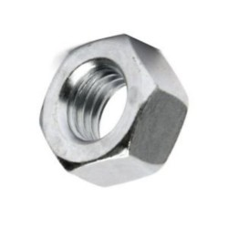 M10 BZP Hex Full Nuts (Pack of 10)