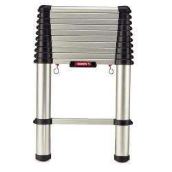 3.8m Black Line Telescopic Ladder