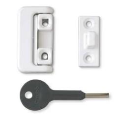 8K101/M White Window Lock (Pack of 4)